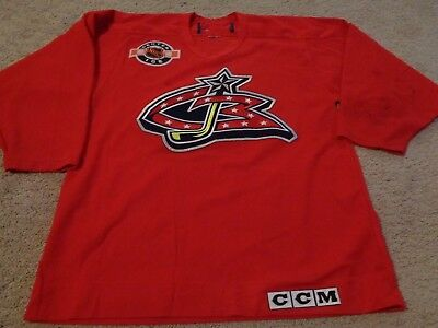buy popular acfef 446c5 CCM CANADA COLUMBUS Blue Jackets NHL Center Ice Authentic ...
