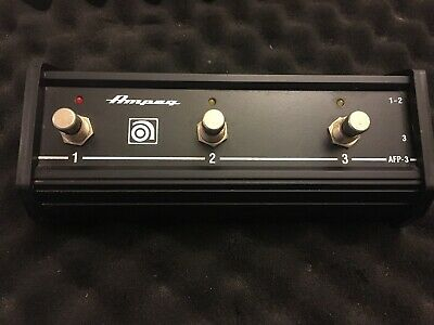 AMPEG AFP-3 3 Button Footswitch