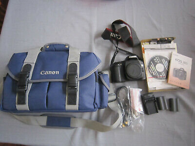 Canon EOS 30D Digital Camera Body with software, strap & manual ++extras