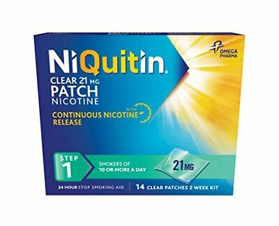 Niquitin CQ Patches 21mg Clear - 14