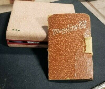 """2 Vintage sewing kits- mending kits ,Belding Corticelli and one """"Mending Kit"""""""