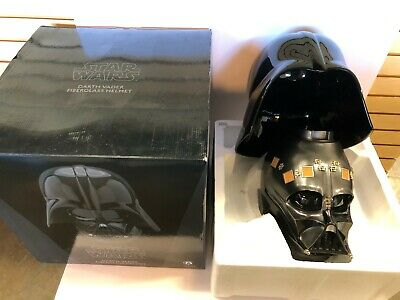 Darth Vader 2015 ANOVOS Star Wars Disney Fiberglass Collectible Helmet