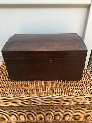 Wooden Dome Chest Storage Box Treasure Chest Dovetail Joints Free Uk Postage
