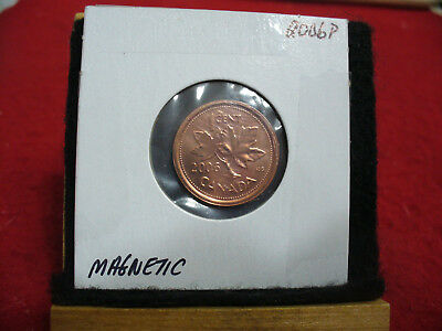 2006 P Magnetic  Canada  1  Cent Coin  Penny  Proof Like  High  Grade  Sealed