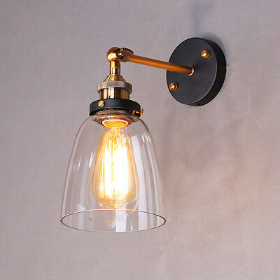 Swing Arm Wall Lamp Bathroom Glass Wall Lights Kitchen Wall Sconce Home Lighting