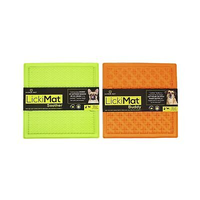 Hyper Pet Lickimat Slow Feeder Dog Mat & Boredom Buster (Perfect For Dog Food...