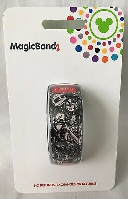 Disney Jack Skellington & Sally The Nightmare Before Christmas Magicband 2 NEW