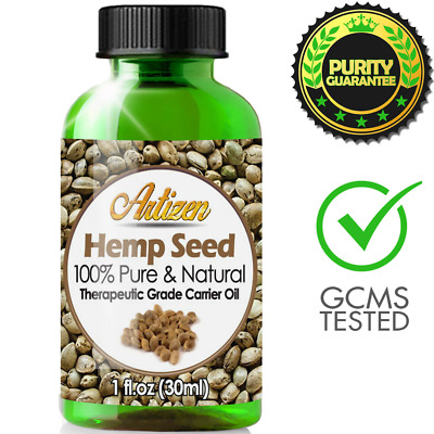 Premium Hemp Oil Extract for Pain Relief, Stress, Anxiety, Sleep (PURE, NATURAL)