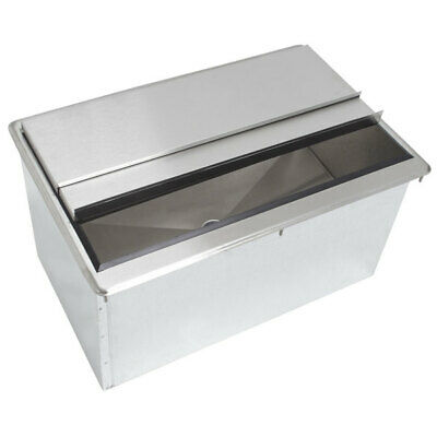 """18"""" x 36"""" Drop In Ice Bin with 8 Circuit Cold Plate"""