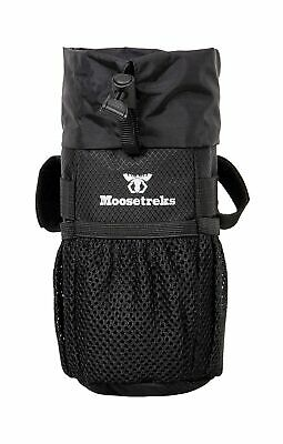 Moosetreks Bike Handlebar Stem BagFood Snack Storage Water Bottle Holder ...