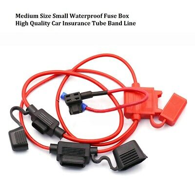 Fuse Holder Splash Proof Cable Fuse Tube For Car Circuit Overcurrent Protection