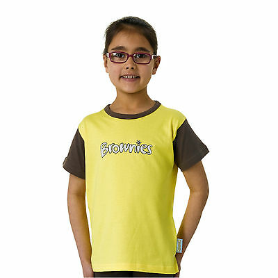 BROWNIE GUIDE SHORT SLEEVE T-SHIRT Official Uniform Top Fast Dispatch Charity