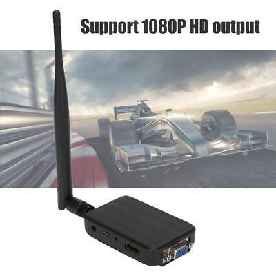 Wireless Wifi HD 1080P Mirascreen HDMI Receiver Miracast Display Airplay DLNA TV