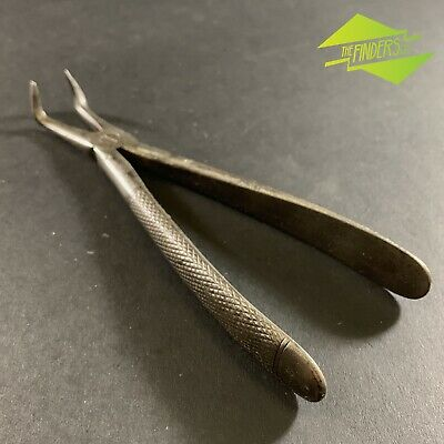 ANTIQUE c.1900 J.LEE & CO SHEFFIELD DENTAL EXTRACTION PLIERS ORTHODONTIST