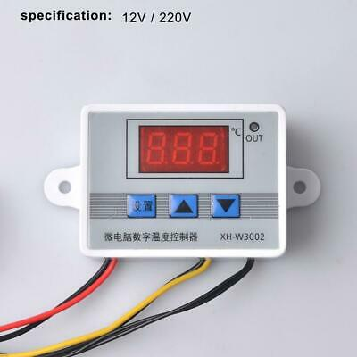 XH-W3002 Probe Digital Thermostat Regulator Temperature Controller Incubator
