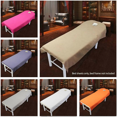 New Beauty Salon Massage Bed Table Soft Cover Spa Couch Sheet With Hole 80*190cm