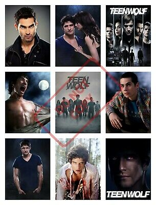 TEEN WOLF Posters Collage Wall Art - VARIOUS SIZE OPTIONS tw1 Dylan O'Brien