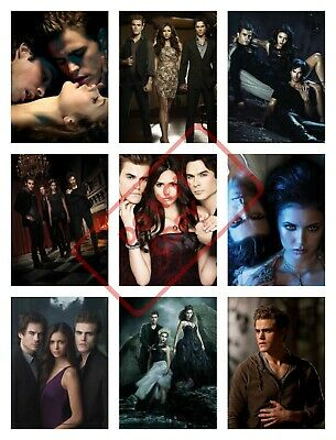 VAMPIRE DIARIES Posters Collage Art - VARIOUS SIZE OPTIONS vd1 Ian Somerhalder