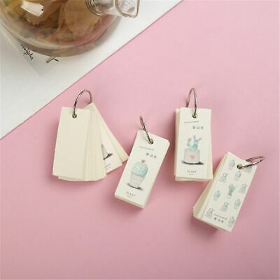 Portable Random Notebooks Writing Pads Reciting Book Diary Journal Office 1Piece