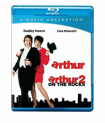 Blu Ray ARTHUR and ARTHUR 2 ON THE ROCKS. Dudley Moore. Region free. New sealed.