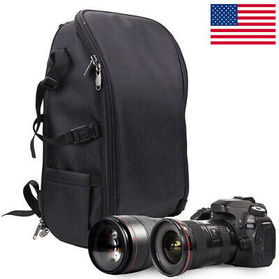 US Large Size Camera Backpack Bag Case for Canon Nikon Sony DSLR SLR K&F Concept