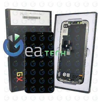 DISPLAY LCD Schermo HARD OLED Per Apple iPhone X Touch Screen + Frame NERO Nuovo