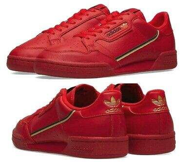New ADIDAS Originals Continental 80 Sneaker Mens red all sizes