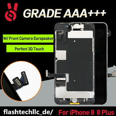 Front Screen Replacement For iPhone8 Plus &8 LCD Touch Digitizer Assembly+Camera
