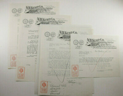 1929 Lamson Goodnow W H Kemp Co NYC Makers of Gold Leaf Letters Ephemera P999A