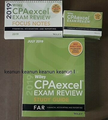 JULY 2017 WILEY CPAexcel CPA Exam Review Study Guide FARE PRINT