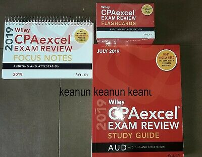NEW WILEY CPA Excel Exam Review Flash Cards Financial Accounting and
