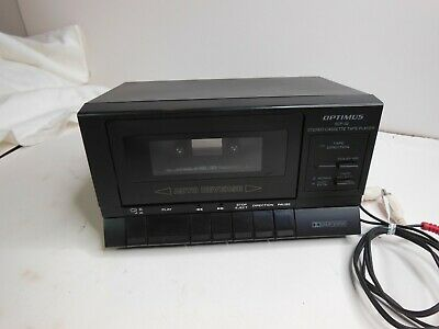 Optimus SCP-32 Stereo Cassette Player