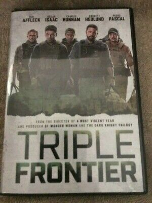 Triple Frontier (DVD,2019) **FREE SHIPPING****