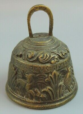 Antique Solid Brass 4 Apostles Bell