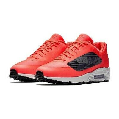 NIKE AIR MAX 90 NS SE Youth Red CAMO Black Gym 869946 600 GS