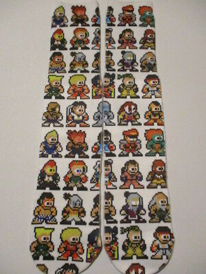 street fighter socks BUY 3 GET 1 PAIR FREE ken guile novelty video game odd sox