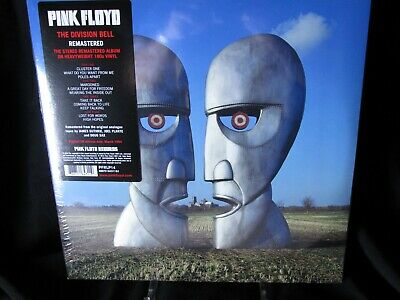 Pink Floyd The Division Bell Remastered Double LP Album NEW VINYL