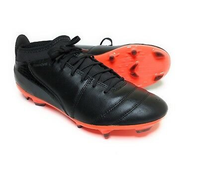 f90443170 NEW PUMA LUX 2 FG Men's Firm Ground Soccer Cleats Black/Silver Men's Sz 8.5