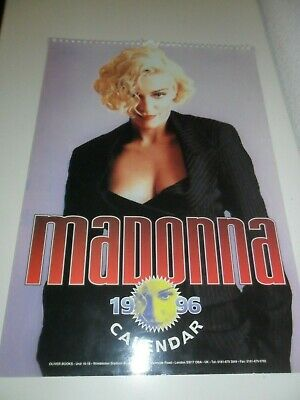Madonna 1996 Calendar Kalender Calendario Calendrier Photo Photos