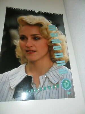 Madonna 1988 Calendar Kalender Calendario Calendrier Photo Photos '88