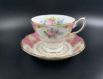 Royal Albert Lady Carlyle Tea Cup and Saucer Set Bone China Brand New with Box