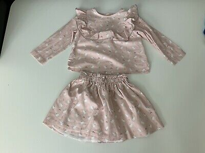Rocky Designer  Girls Outfit Set Skirt & Top Age 2 Years Vgc