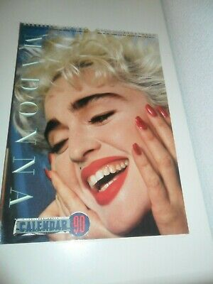 Madonna 1990 Calendar Kalender Calendario Calendrier Photo Photos
