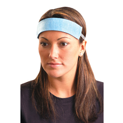 Occunomix SB100 Original Soft Sweatbands Polyester Cloth, Various Quantities