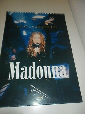 Madonna 2001 Calendar Kalender Calendario Calendrier Photo Photos