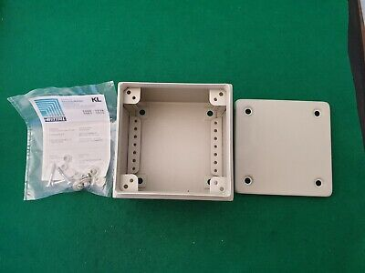 Rittal KL1500 Steel Electrical Enclosure 150 x 150 x 120 mm