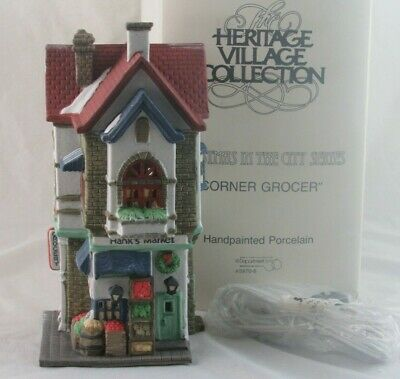 VIRGINIA NEW DEPARTMENT 56 CHRISTMAS IN THE CITY SERIES YES #56.58890