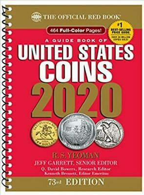 A Guide Book of United States Coins 2020 73rd Edition by Jeff Garrett (2019)