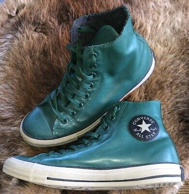 Converse - All Star - Chuck Taylor - Green Rubber - Size Men's 10/Women's 12