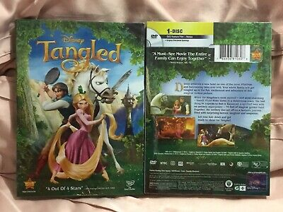 Tangled (1 Disc DVD, 2011) Brand New